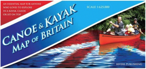 Canoe & Kayak Map of Britan
